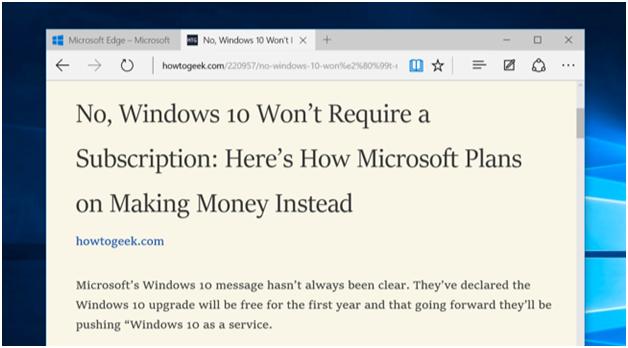 Tout ce que vous devez savoir sur le navigateur Microsoft Edge sur Windows 10