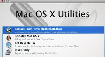 Restaurer le Mac avec l'aide de la récupération HD