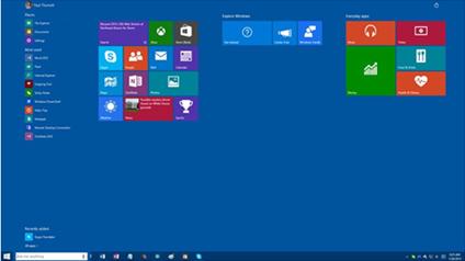 Comment laisser windows 10 tourner sur votre tablette ?