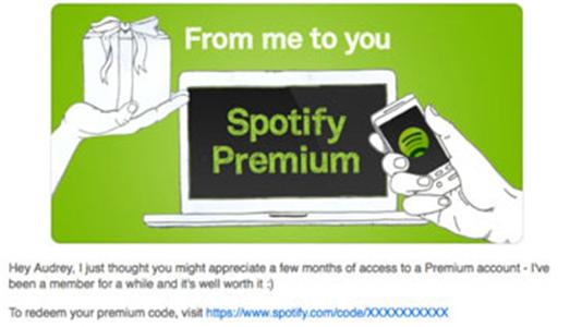 Carte Cadeau Spotify.Connaissez Vous Ces Methodes D Obtenir La Carte Cadeau De