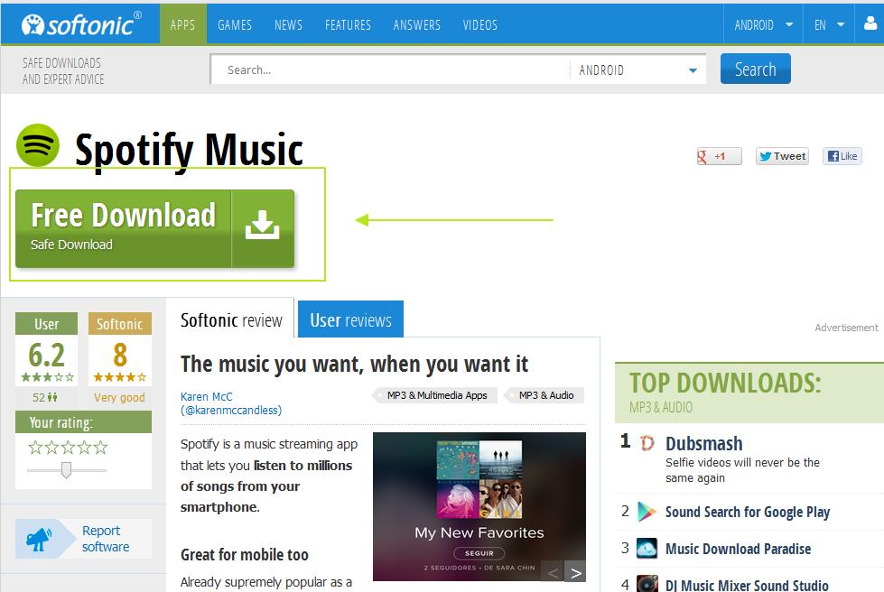Comment télécharger Spotify pour Android?