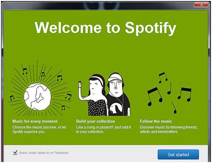 Ecouter de la musique Spotify en ligne avec un client Spotify