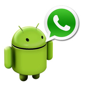 WhatsApp sur android