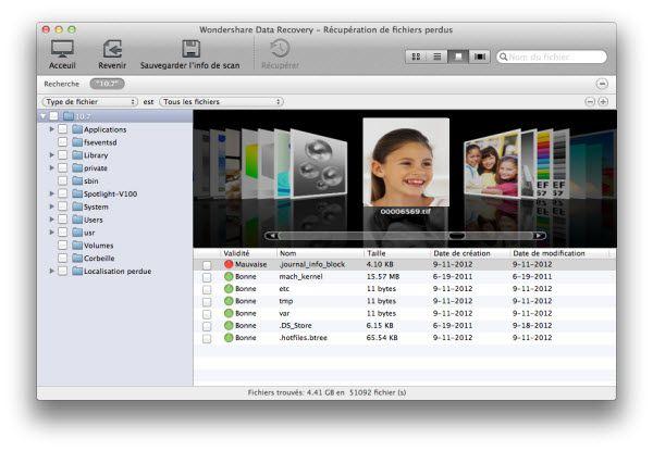 recuperer fichiers supprimes mac