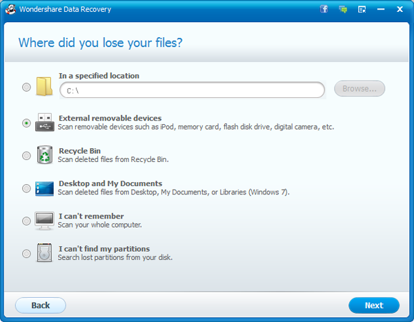 how to retrieve files from malfunctioned external hard drive