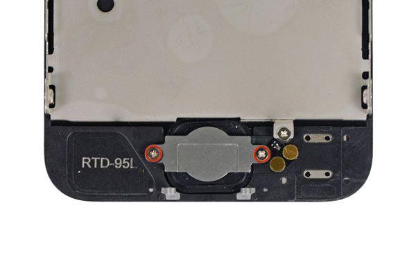 Comment remplacer un bouton home d'iPhone 5S / 5C / 5/4 / 4S / 3GS / 3G cassé
