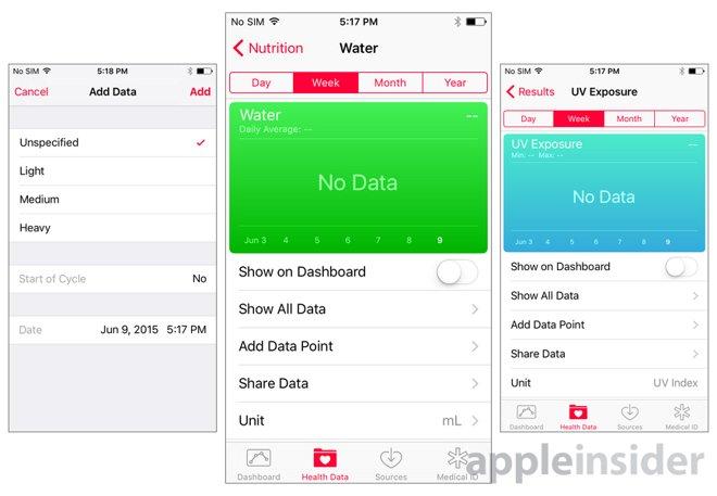 l'iOS 9 traque vos activités sexuelles