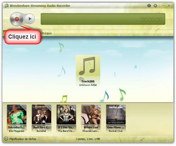 graver la musique Youtube sur cd