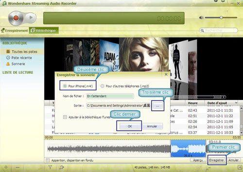 logiciel de création de sonnerie