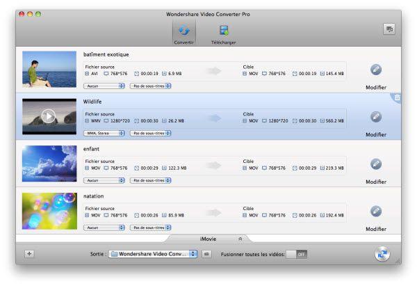 Expérience pratique de convertir FLV en iMovie pour la retouche FLV dans iMovie