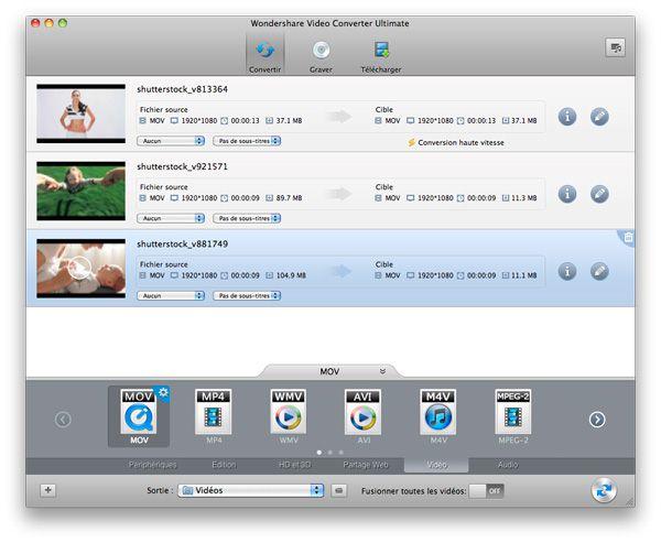 convertir MKV pour iTunes