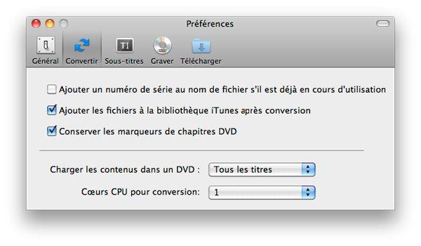 transferer AVI vers iTunes automatiquement