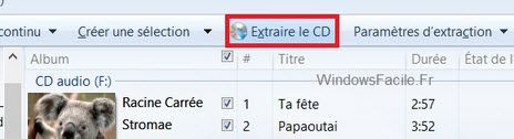 convertisseur cd en mp3