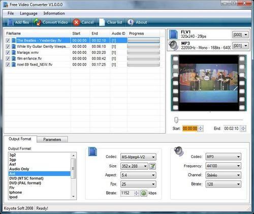 koyote-free-video-converter-3.1.0.0