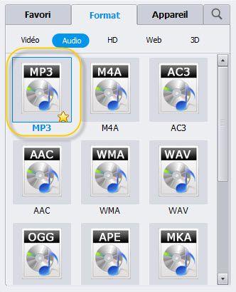 choisir le format pour wma en ipad 4
