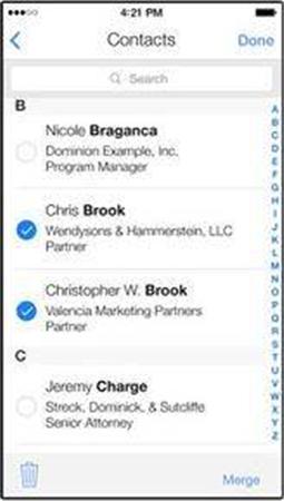 15 Apps pour supprimer les contacts sur iPhone