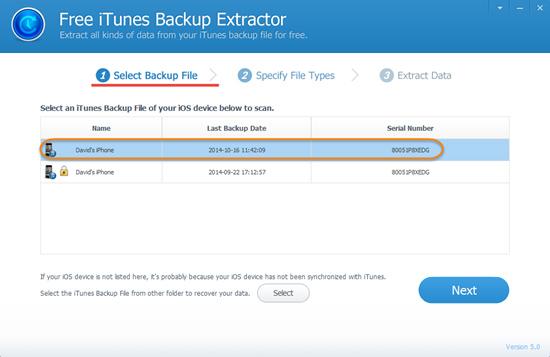 iphone backup explorer