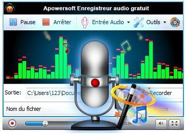 apowersoft enregistreur audio gratuit