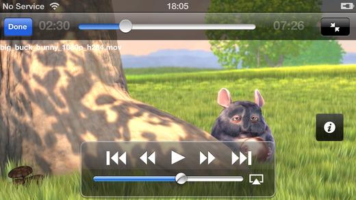 GoodPlayer pour iOS