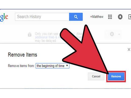 Meilleures méthodes pour effacer votre historique de navigation / historique de recherche Google.