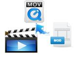 Comment faire pour convertir MOD en MOV(QuickTime) sur Mac OS / Windows