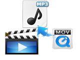 Comment extraire un fichier audio MP3 depuis Quicktime (MOV) ?