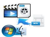 Comment convertir M2TS/MTS en MPEG sous Windows/ Mac OS (Mountain Lion inclus)