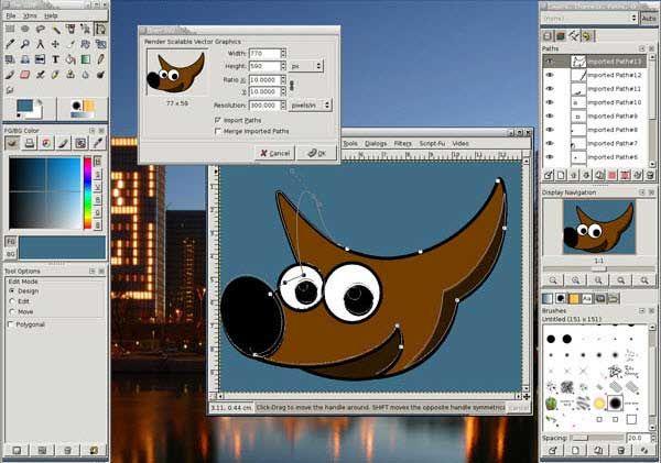 logiciel de retouche photo mac os x