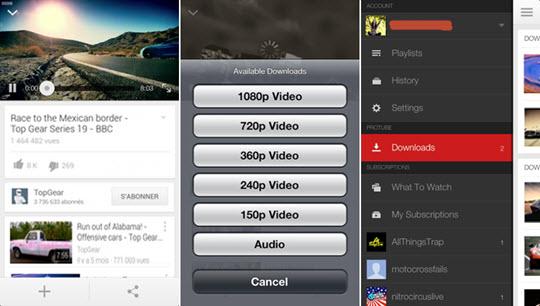 ProTube pour iOS