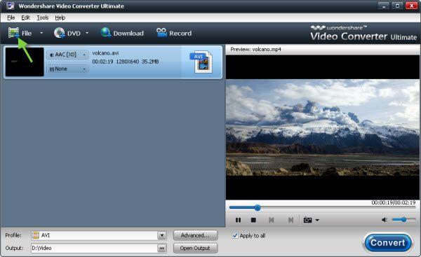 Utilisez rapide Cutter AVI Couper les fichiers AVI sans perte de qualité