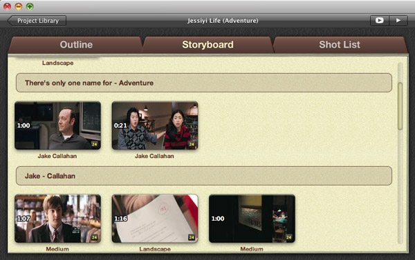 imovie 11 movie trailer features