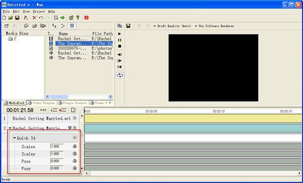 Editteur video